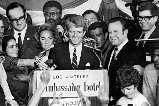 RFK's last speech