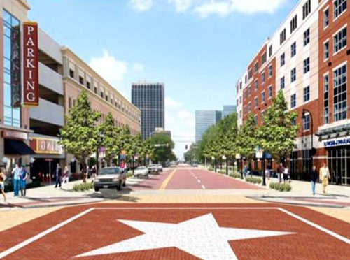Step by step, downtown moving ahead